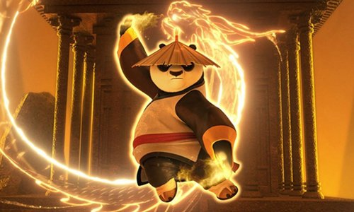 Mouvements Kung panda - la posture du dragon