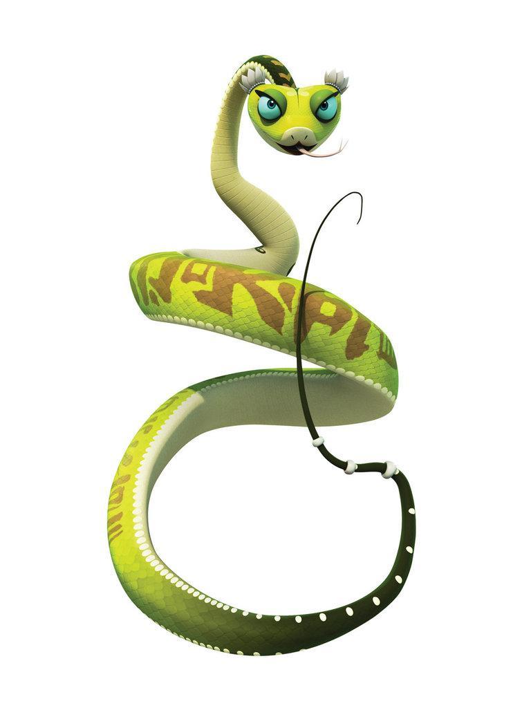 Mouvements Kung fu panda - la posture du serpent